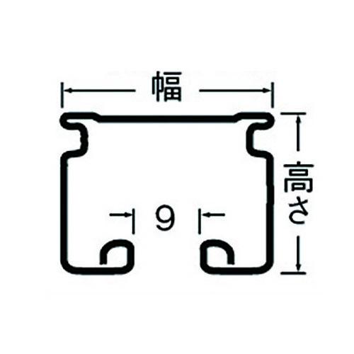 岡田 D30カーブレール 800×800×300R スチール製品図面・寸法図