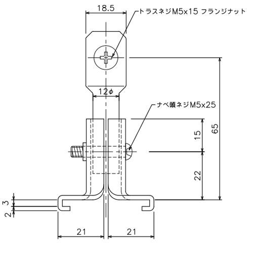 岡田 D40伸縮吊棒爪