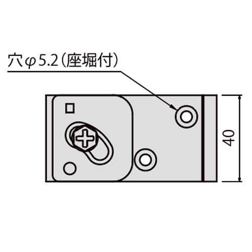 岡田 SGステン天井Sブラケット-2