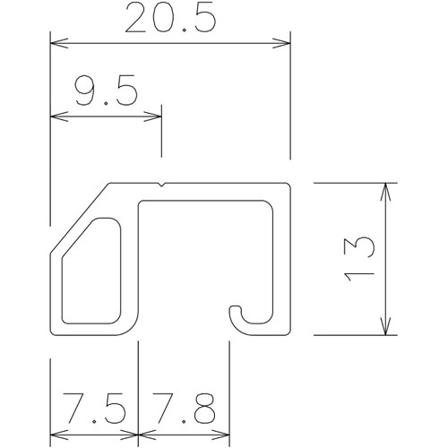 岡田 ネットBOXバー 5.0m