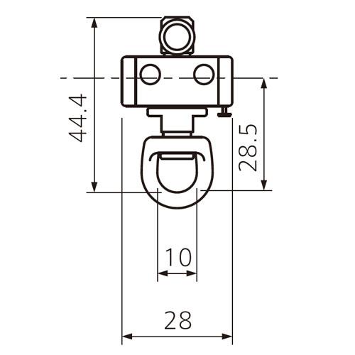 フェデポリマーブル 30・40用後入れリングランナー 製品図面・寸法図-1