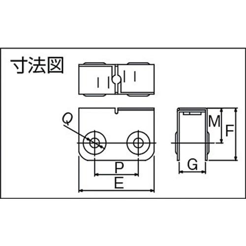 ダイケン 2号 ステンレス ドアハンガー用 エプロン製品図面・寸法図