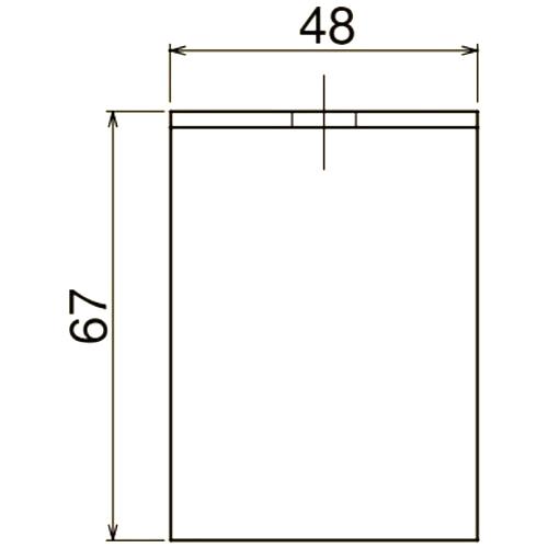 ダイケン 3号 ステンレス ドアハンガー用 L型天井受