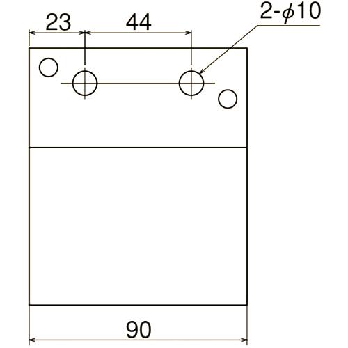 ダイケン 3号 ステンレス ドアハンガー用 横継受一連