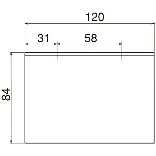 ダイケン 4号 ステンレス ドアハンガー用 L型天井継受