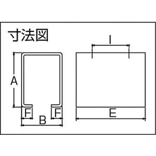 ダイケン 4号 ドアハンガー用 天井継受下製品図面・寸法図
