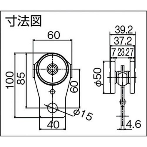 ダイケン マテハン MTH3 ツール単車製品図面・寸法図