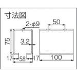 ダイケン ドアハンガー ニュートン20 天井継受下製品図面・寸法図