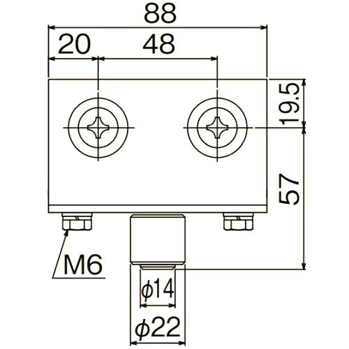 ダイケン ドアハンガー ニュートン40 枠付ガイドローラ