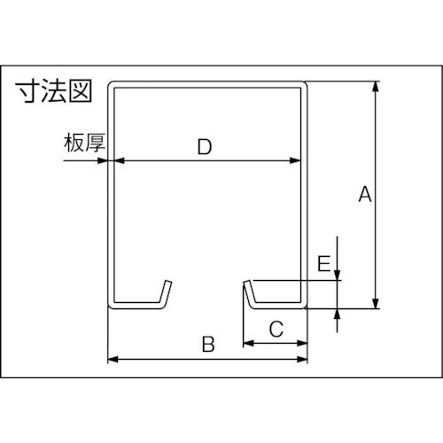ダイケン ドアハンガー ニュートン40 カーブレール 600R製品図面・寸法図