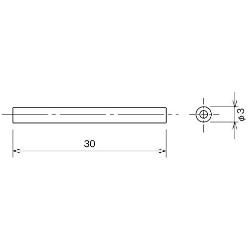 ダイケン アルミ ドアハンガー SD15 連結ピン製品図面・寸法図