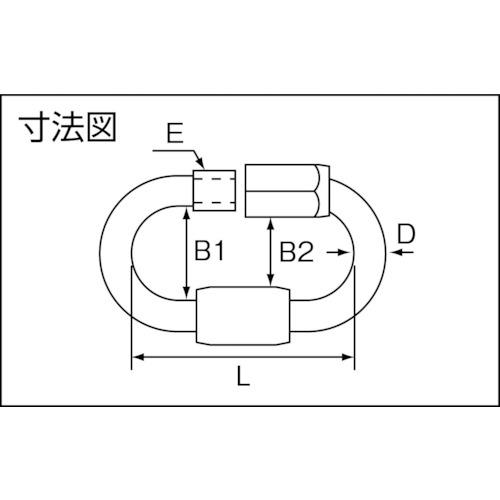 水本 ステンレス OPMMリング 線径8mm 製品図面・寸法図